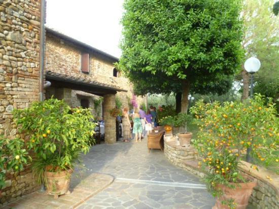 Villa Le Torri: View of some gardens
