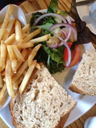 The Cherub Inn Restaurant: CrabSandwich