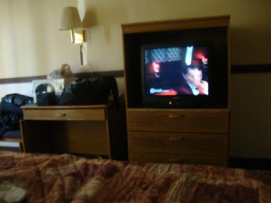 Motel 6 Westley: TV, Mirco no fridge