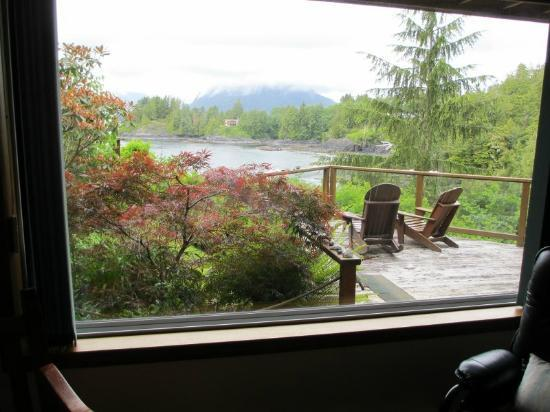 The Tides Inn on Duffin Cove: View from inside