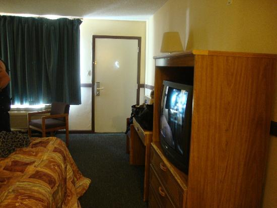 Motel 6 Westley: view from dressing area