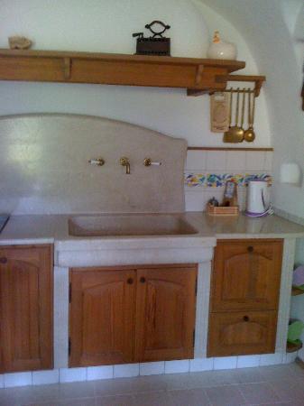 la cucina in muratura - Picture of Bed and Breakfast \'La ...