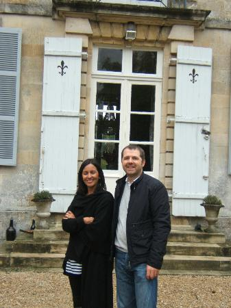 Domaine du Chateau de Mairy : In front of the Entrance