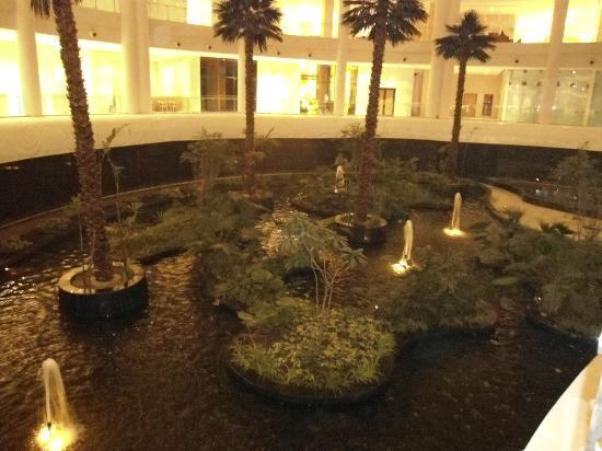 Near the lobby