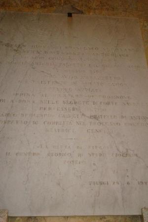 """Hotel delle Ortensie: FIUGGI:  I """"complici"""" dell'uccisione del padre di Beatrice Cenci abitavano qui"""