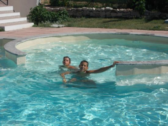 Valledoria, Ιταλία: piscina Abbaidda Hotel