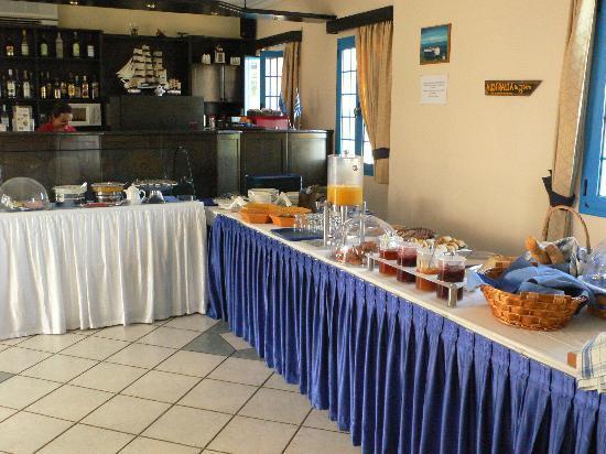 Romantica Hotel : Ontbijtbuffet