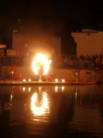 Agador Tamlelt: The Fire and Water Display was excellent
