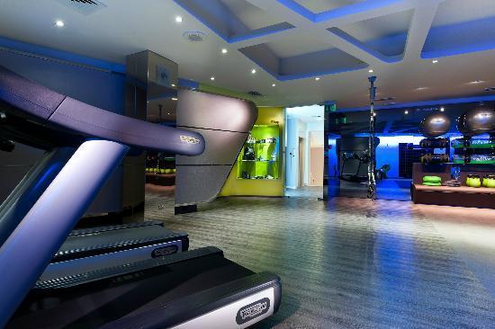 Hotel Villa Rosa Riviera: Palestra con personal trainer