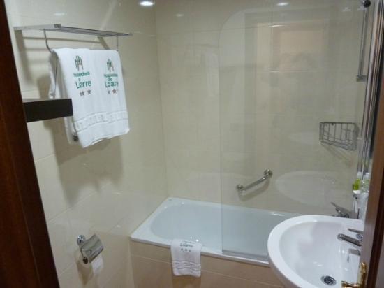 Hospederia de Loarre: baño