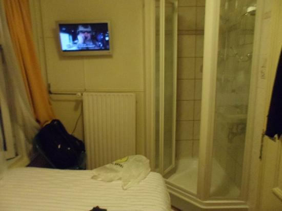 Hotel de Westertoren: ducha