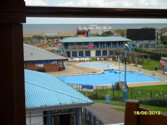 Beeston Lodge Outdoor Pool On Sea Front