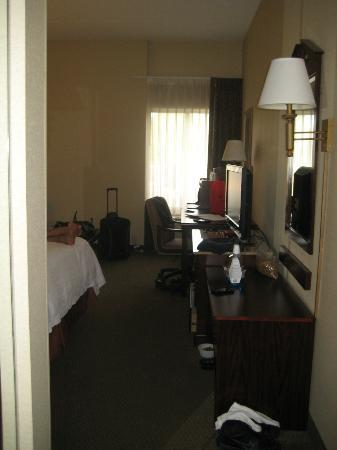 Hampton Inn Cleveland Solon : After we moved in - please excuse our stuff