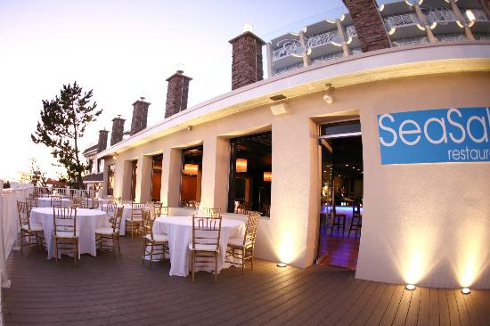 Beachfront Dining At SeaSalt Restaurant In Cape May, NJ