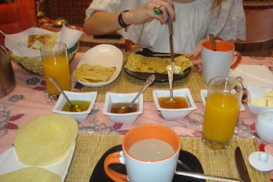 Riad Bahia: Desayuno