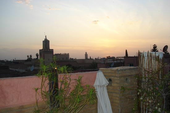 Riad Bahia: Terraza