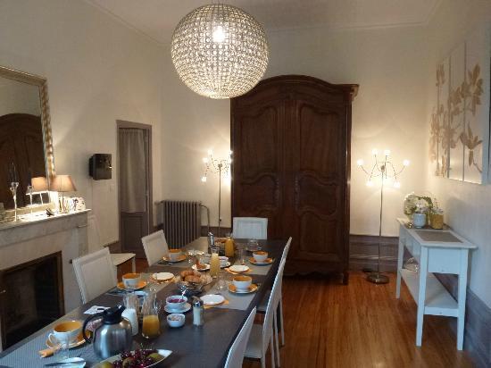 Villa Pascaline : Salle petit déjeuner