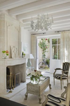 Hotel de Toiras: Salon d'accueil Villa Clarisse