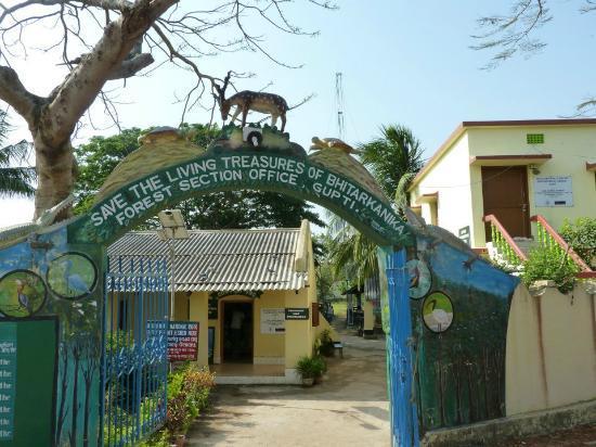 Bhitar Kanika National Park: gupti rest house