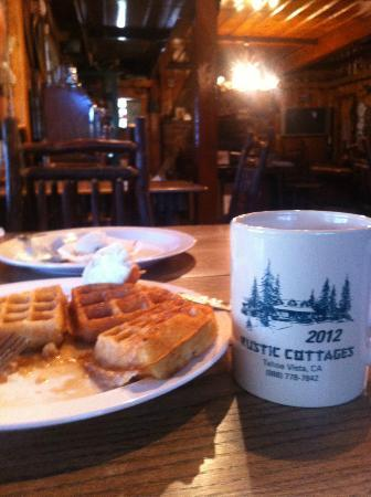 Rustic Cottages: Breakfast :)