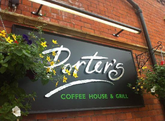 Porters Coffee House : Sign