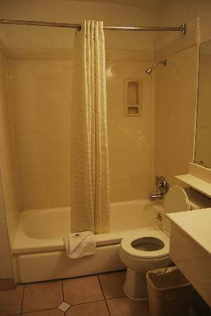 Motel 6 Los Angeles - Hollywood: Bagno