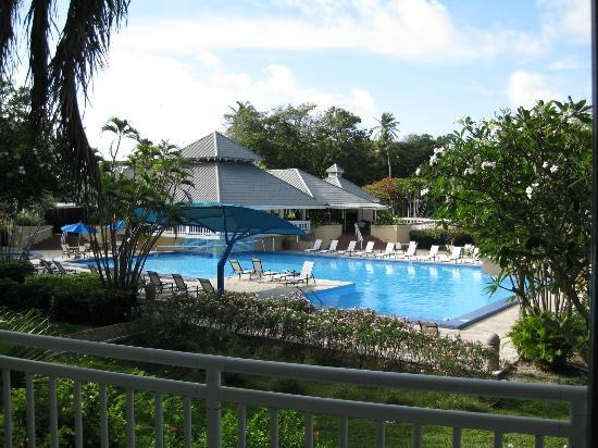 Divi Southwinds Beach Resort: view form balcony of room 204
