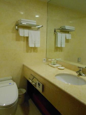 Sejong Hotel: 掃除が行き届いたバスルームでした