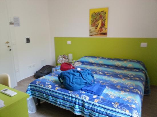 Camere Girasole: letto