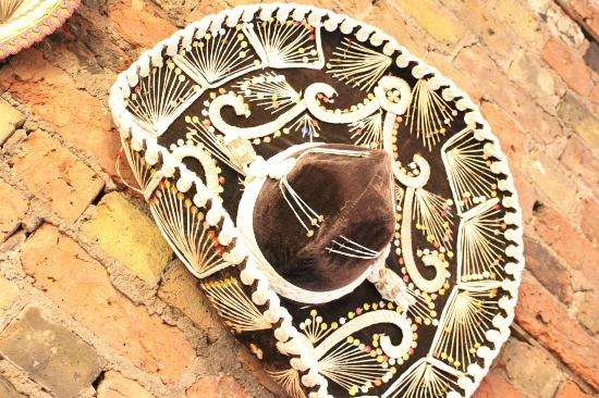 Picante Mexican Grill: Antique Sombrero