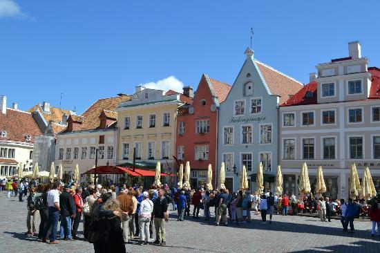 Food Sightseeing Estonia Day Tours: town square