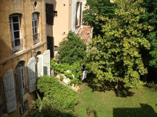 "La Maison d'Aix : View from ""Jardin Secret"" room"
