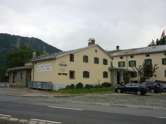 Hotel de la Forclaz: A rather bleak spot