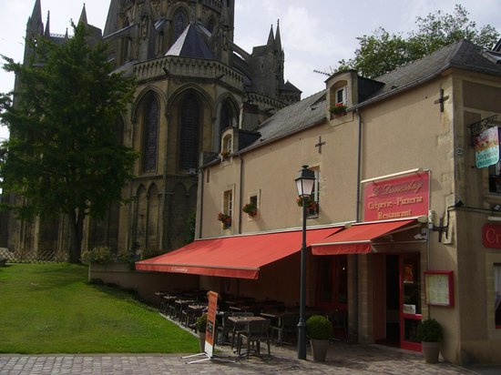 Le Domesday: Right beside Bayeux Cathedral