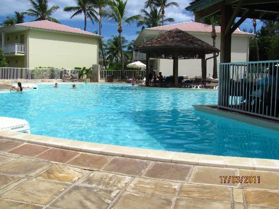 Hotel Le Recif: vue de la piscine