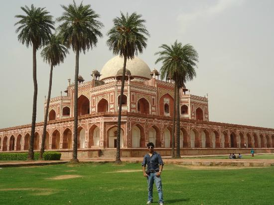 Humayun's Tomb: million dollar view