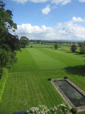 Shapwick House Hotel: View from my room