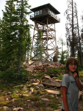 Spruce Mountain Fire Lookout Tower: tower