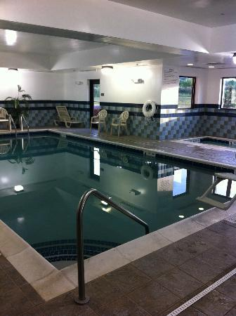Hampton Inn & Suites Syracuse Erie Blvd/I-690: A Picture of the Pool Area