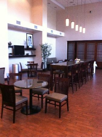 Hampton Inn & Suites Syracuse Erie Blvd/I-690: The Area Where Breakfast is Served
