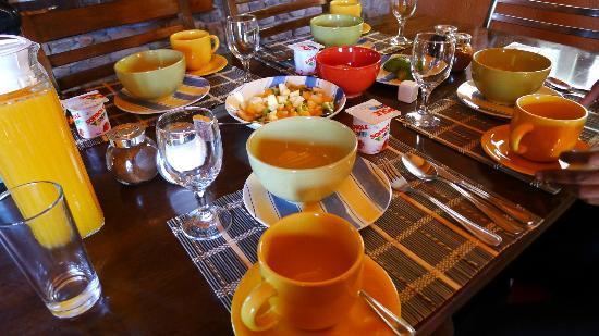 Casa Solcor Boutique Bed & Breakfast: Breakfast at CASA SOLCOR