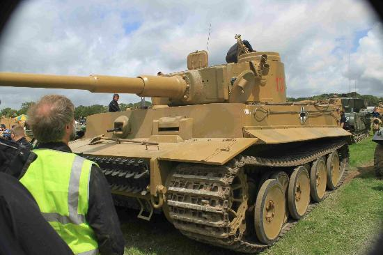 Bovington, UK: Tiger 131