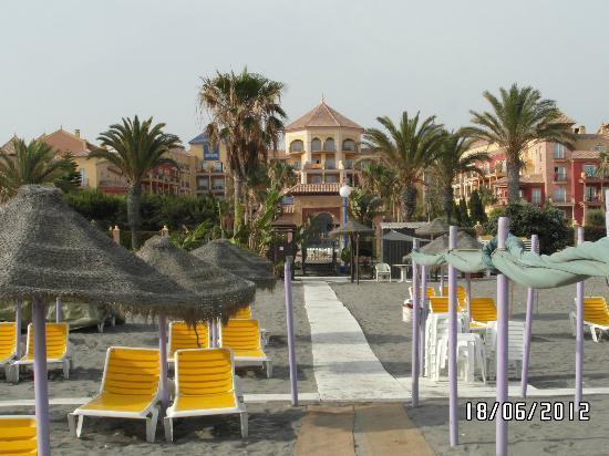 IBEROSTAR Malaga Playa: vue de l hotel , de la plage