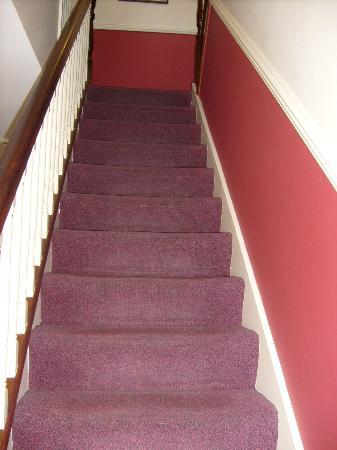 Aaron House B&B : Staircase