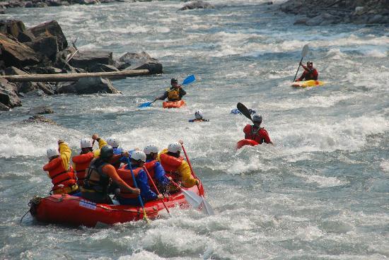 Apex Raft Company: Rafting the Illecillewaet