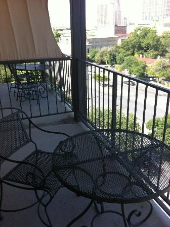 Marriott Plaza San Antonio: balcony