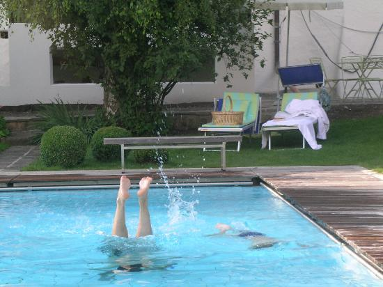 Hotel Heubad: Piscina esterna