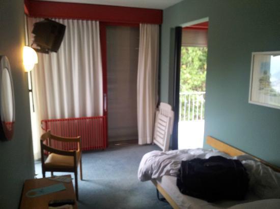 Hotel Serpiano: Wohn- und Schlafbereich