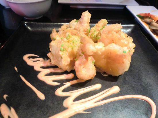 Chino Latino - Nottingham: Tempura prawns with creamy chilli sauce