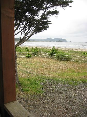 Hobuck Beach Resort : VIew From Cabin Deck